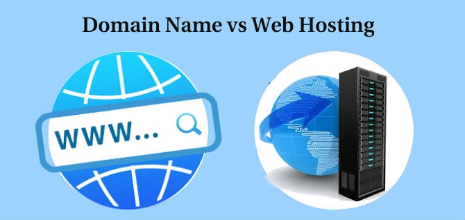 What is the Difference Between Domain Name and Web Hosting