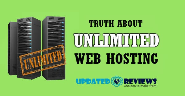 Truth About Unlimited Web Hosting