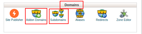 How to Add A Domain/Addon Domains or Sub Domain with cPanel