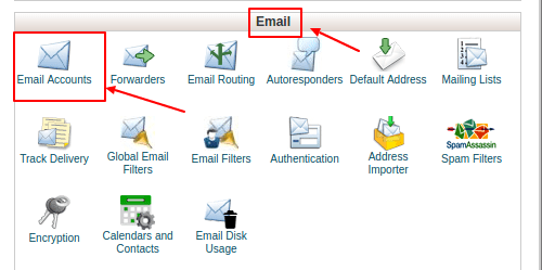 How To Create An Email Account With cPanel
