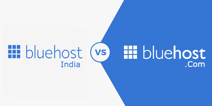 BlueHost.in vs Bluehost US