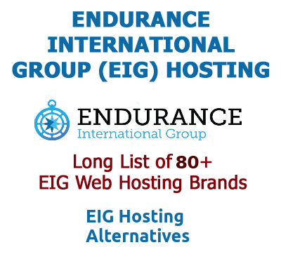 EIG Hosting Companies and Brands