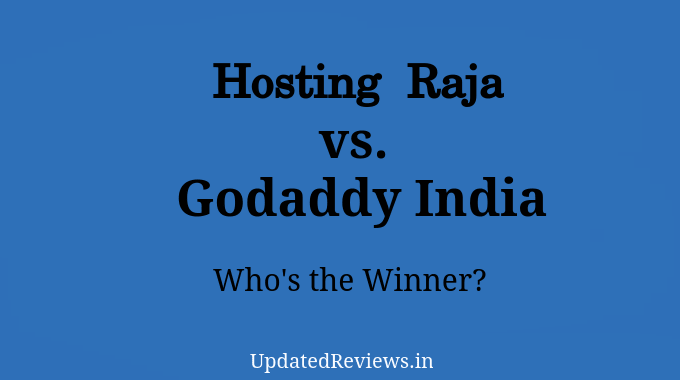 Hosting Raja vs Godaddy