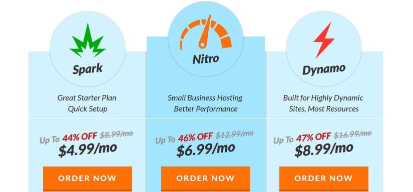 Web hosting hub prices