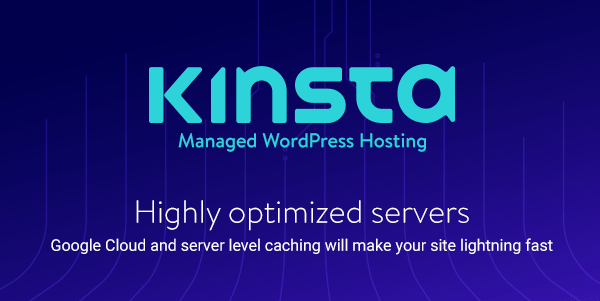 Kinsta Optimized Hosting
