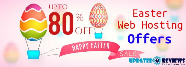 Easter Web Hosting Offers, Sale, Discounts