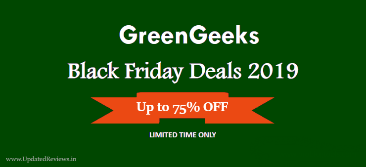 GreenGeeks Black Friday Sale
